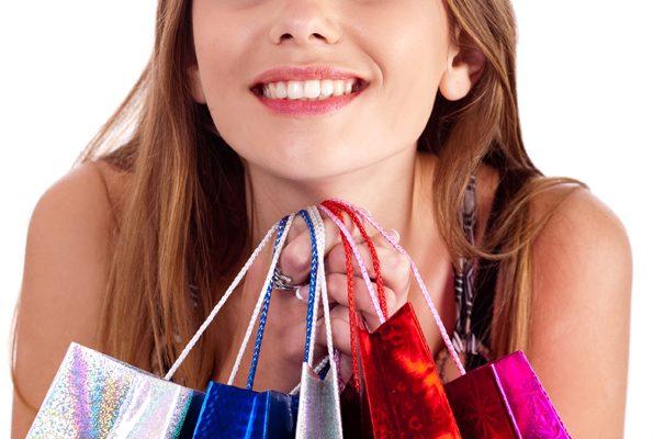 Sparen beim Shopping im Internet