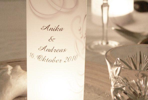 Hochzeit: Tipps für die Tischdekoration