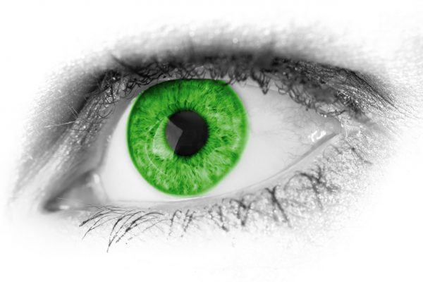 Gesunde Kontaktlinsen