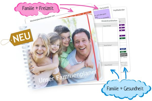 Personalisierter Familienplaner